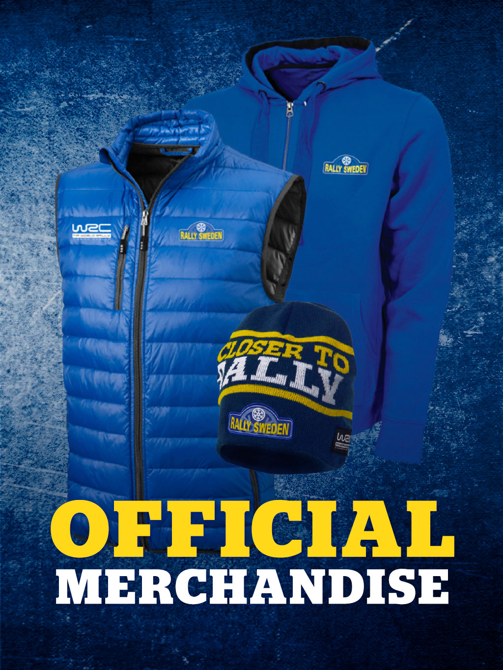 3e5b6335f Official Merchandise – Rally Sweden