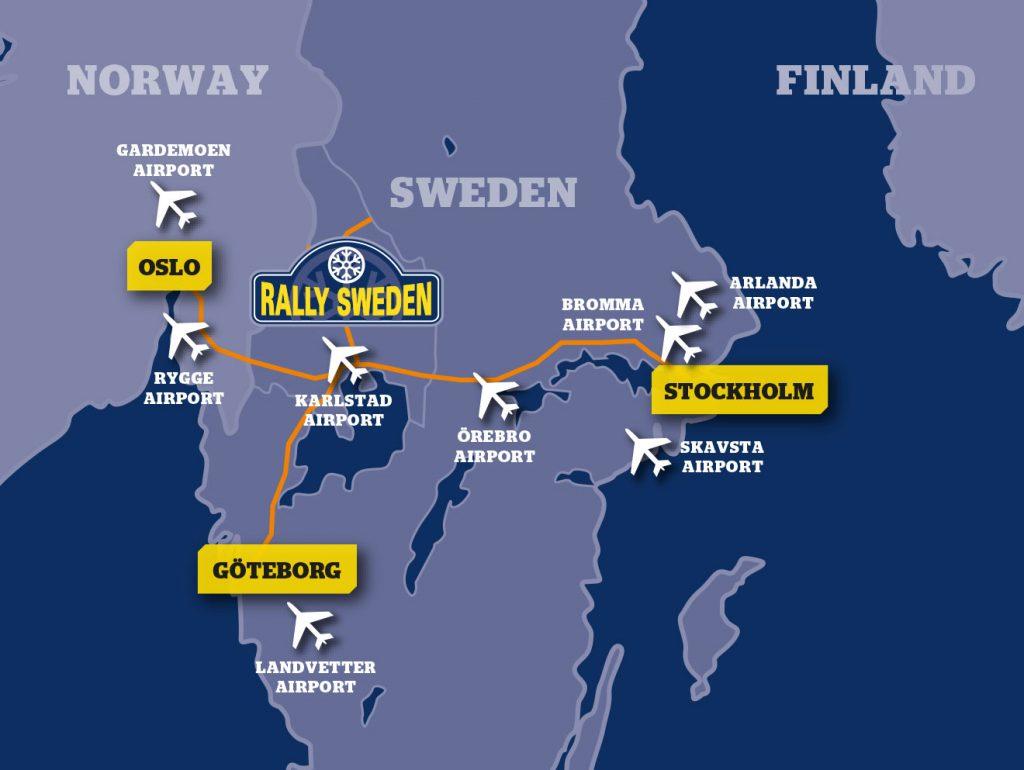 Karta Bromma Arlanda.Find Us Rally Sweden