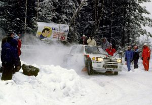Ari Vatanen, Peugeot 205 Turbo16