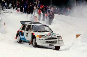 Juha Kankkunen, Peugeot 205 Turbo16