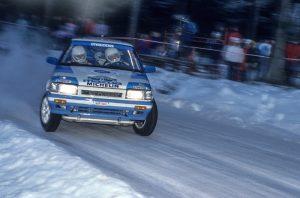 Ingvar Carlsson, Mazda 323 Turbo 4WD
