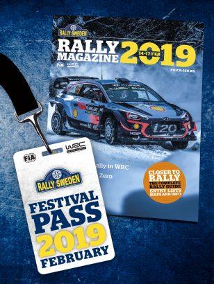 Festivalpass och RallyMagazine